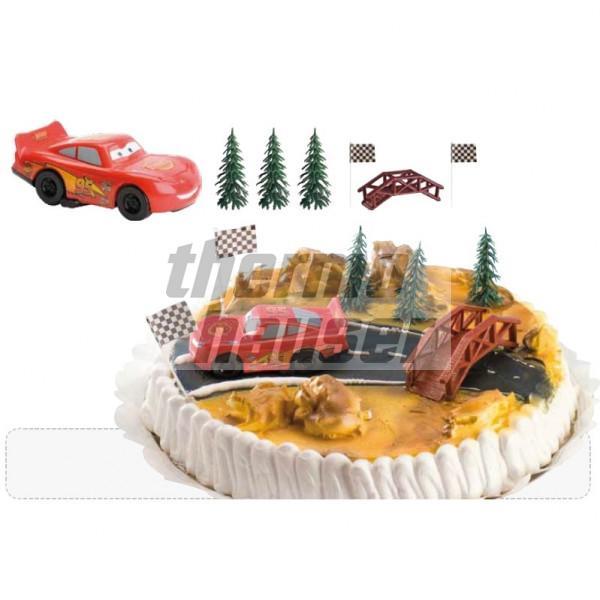 Tortenfiguren-Set Cars - Lightning McQueen