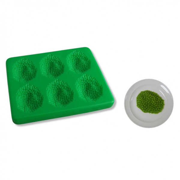 Silicon moulds for puréed and strained foods