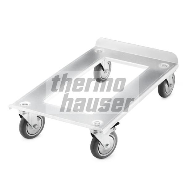 Chassis for Combi GN 1/1 Thermobox, front loading, aluminium