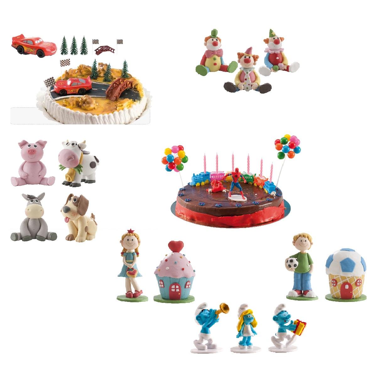 Tortenfiguren Kindergeburtstag/ Party