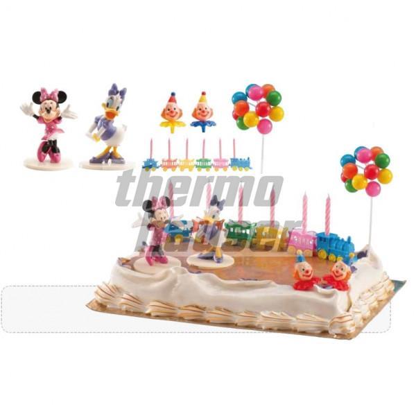 Tortenfiguren-Set Minnie & Daisy (mit Deko)