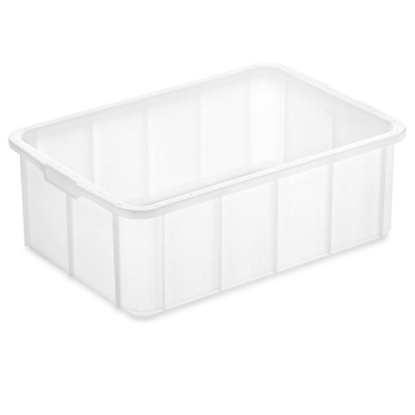 Stapelbehälter 66 x 45 cm, weiß, schwere Qualität
