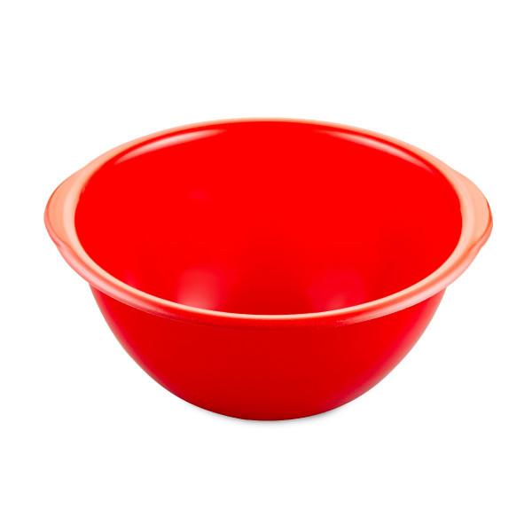 Rührschüsseln rot, Kunststoff