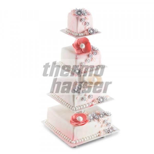 Etageren / Hochzeitstortenständer quadratisch