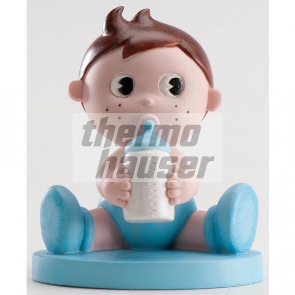 Tortenfigur Baby-Boy mit Flasche